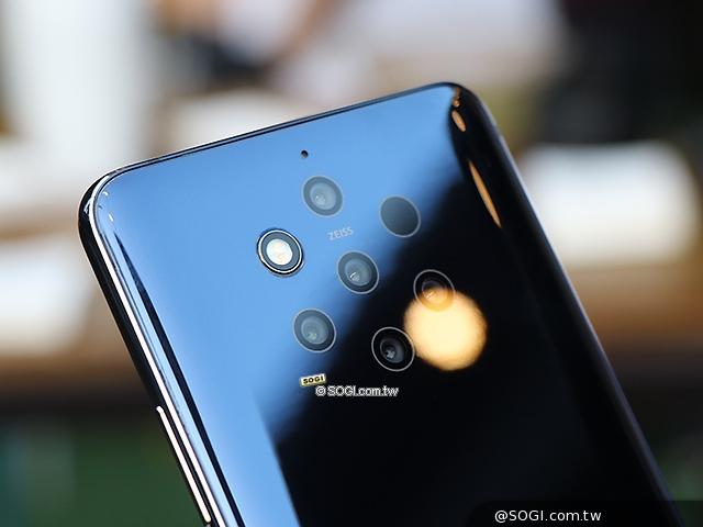 五镜头手机nokia 9 pureview 台湾会很快上市[mwc 2019]图片