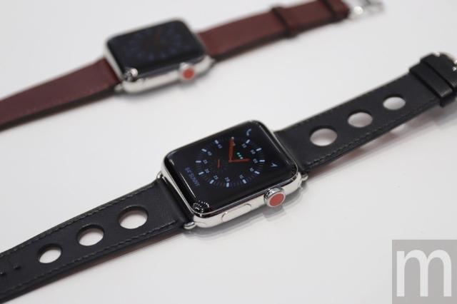 增加獨立連網機能的Apple Watch Series 3、新款錶帶