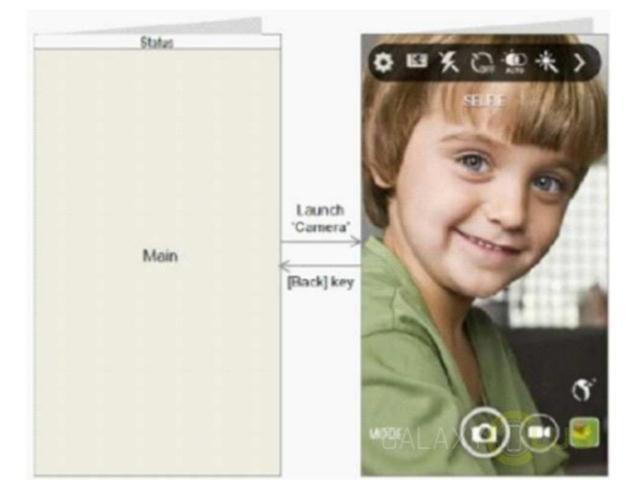 三星螢幕折疊手機Galaxy X專利曝光 雙螢幕可做更多事