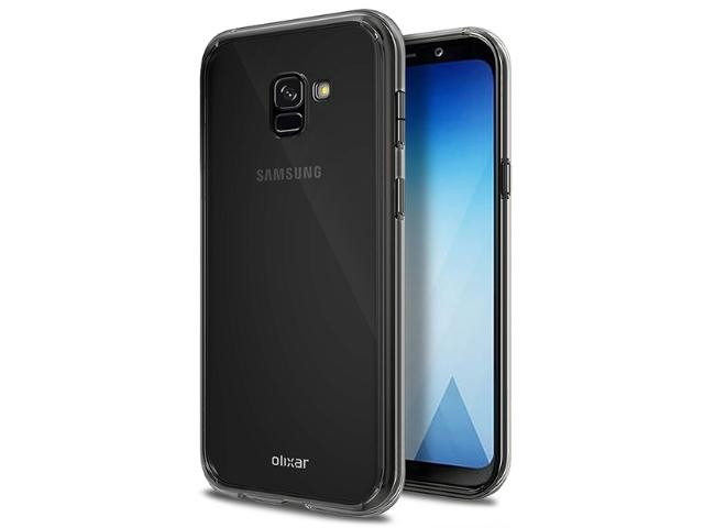 採用無邊際螢幕 SAMSUNG A5 2018外觀同保護殼曝光