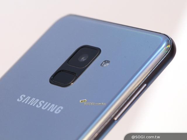 三星A8 2018前置雙鏡頭手機 1月15日台灣上市