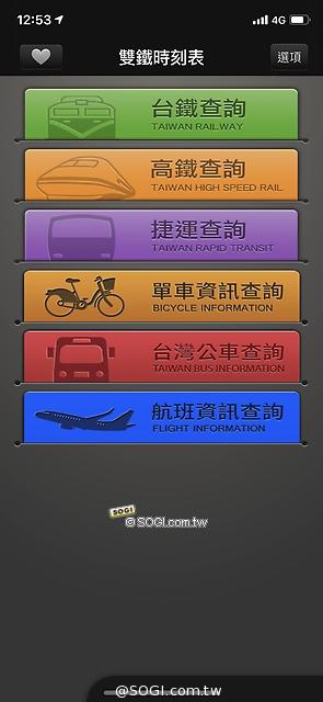 各種交通工具
