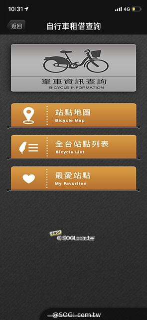 單車站點資訊
