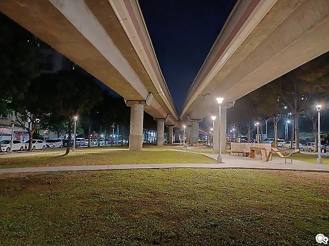 A32夜景模式實拍