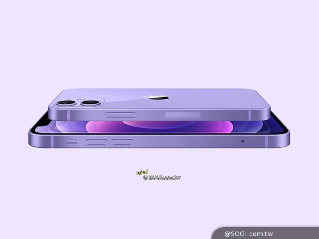 揭示了新的颜色!  iPhone 12和12分钟也有新的紫色型号-SOGI手机王