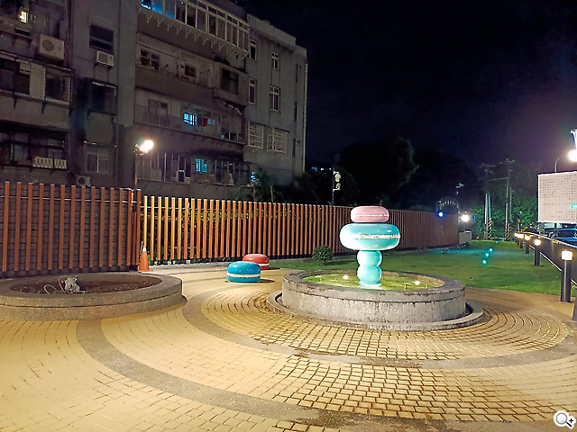 造型噴水池
