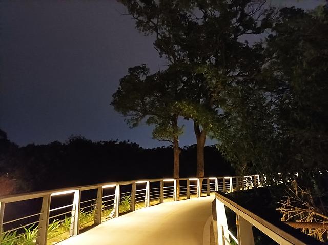 夜景模式(關)