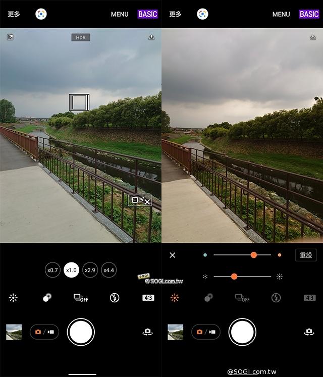 相機 UI