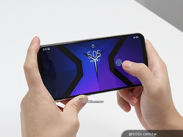 橫式螢幕指紋辨識