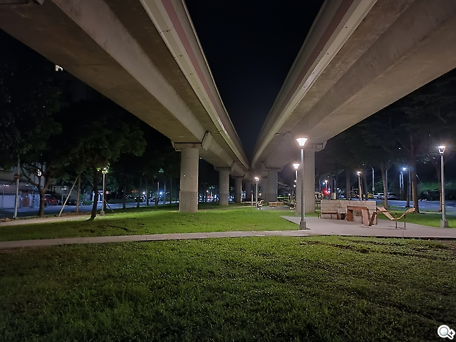 Reno6 夜景模式