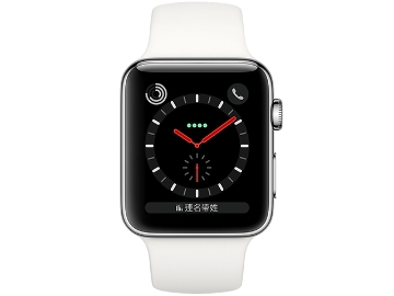 Apple Watch Series 3 GPS + LTE Sport Stainless Steel 38mm