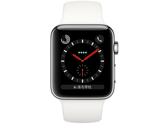 Apple Watch Series 3 GPS + LTE Sport Stainless Steel 38mm