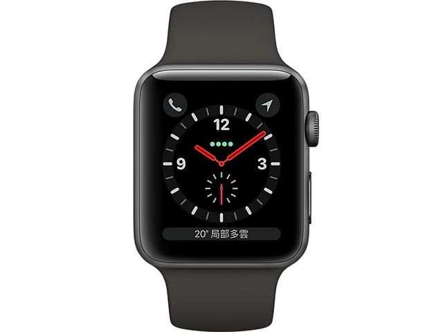 Apple Watch Series 3 GPS + LTE Sport Aluminum Band 38mm