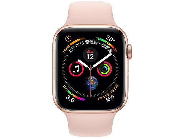 Apple Watch Series 4 Sport Aluminum Band GPS + LTE 44mm