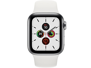Apple Watch Series 5 Sport Stainless Steel GPS + LTE 40mm