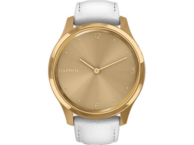Garmin vivomove Luxe 皮質錶帶