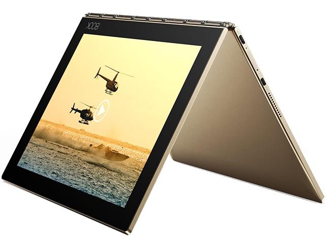 Lenovo Yoga Book with Windows 香檳金