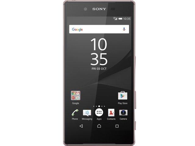 Sony Xperia Z5 玫瑰石英粉
